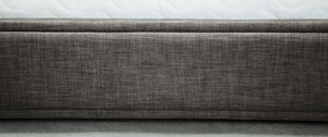 Emporia Beds Knightsbridge Ottoman Bed Foot Board Detail Close Up-Better Bed Company
