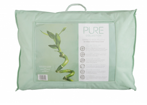 Pure Bamboo Pillow-Harwood Textiles-Better Bed Company