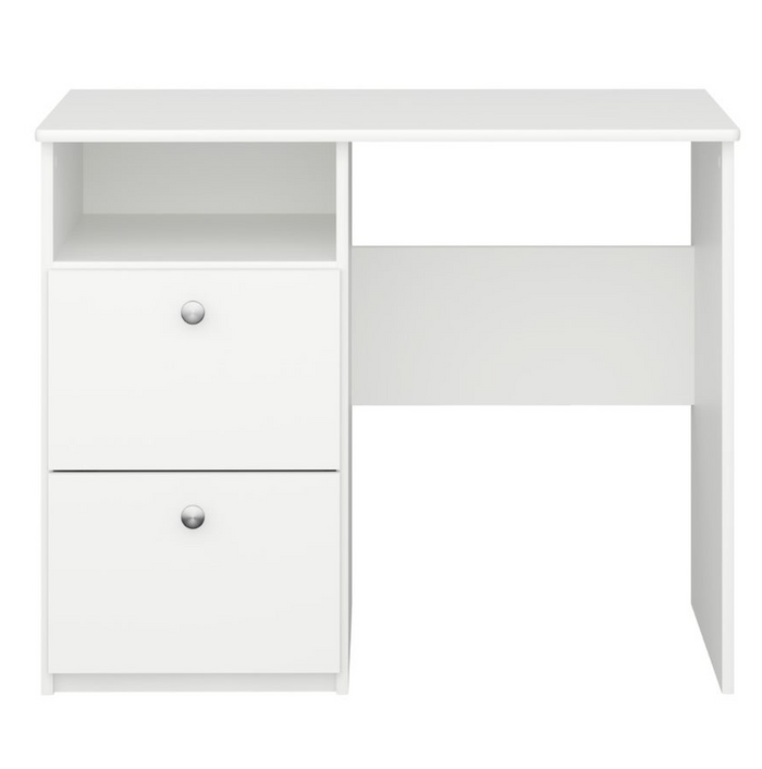 Steens For Kids 2 Draw Desk Off White