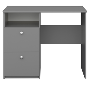 Steens For Kids 2 Draw Desk Grey-Better Bed Company