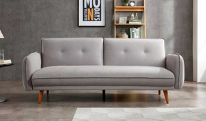 Kyoto Coleman Sofa Bed-Sofa Beds-Kyoto-Mustard-Better Bed Company