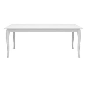 Steens Baroque White Table-Better Bed Company