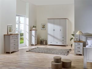 Steens Norfolk Grey And Pine Bedroom Furniture Range-Better Bed Company
