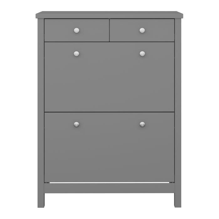 Steens Tromso Grey Shoe Cabinet