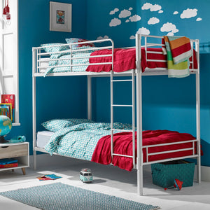 The Apollo Bunk Bed Silver - Better Bed Company