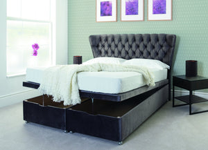 Swan Fabric Bed-Fabric Beds-Better Bed Company