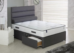 Vogue Beds Countess Blu Cool 1000 Divan Set-Better Bed Company