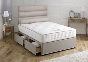 Vogue Beds Earl Latex 1000 Divan Set-Better Bed Company