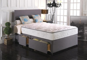 Vogue Beds Empress Blu Cool 1500 Divan Set-Better Bed Company