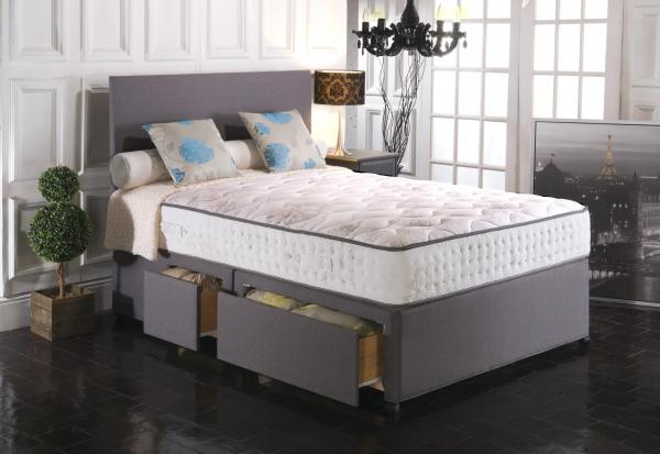 Vogue Beds Empress Blu Cool 2000 Divan Set