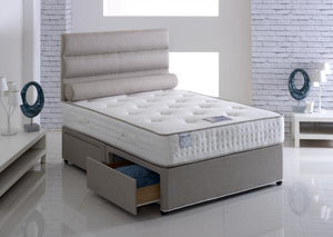 Vogue Beds Latex Paedic Divan Set-Better Bed Company
