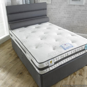 Vogue Beds Rhapsody Gel 1000 Divan Set At Another Angle-Better Bed Company