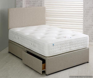 Vogue Beds Warwick 1000 Pocket Mattress As A Bed-Better Bed Company