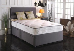 Vogue Beds Windsor Blu Cool 1000 Divan Set-Divan Beds-Vogue Beds-Small Single-Non Storage-Better Bed Company