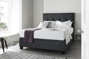 Kaydian Walkworth Pendle Slate Ottoman Bed Frame-Ottoman Beds-Kaydian-4ft 6 Double-Better Bed Company