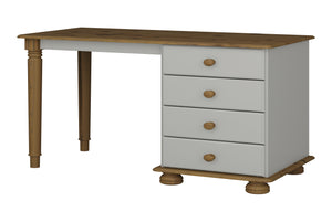 Steens Richmond Grey And Pine Dressing Table-Dressing Tables-Steens-Better Bed Company