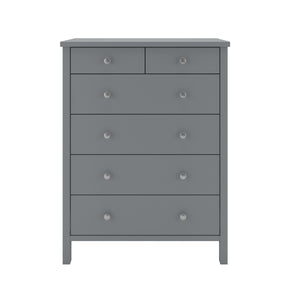 Steens Tromso 2 + 4 Grey Chest Of Draws-Better Bed Company