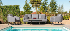 Maze Rattan Ambition 3 Seat Sofa Set-Better Bed Company