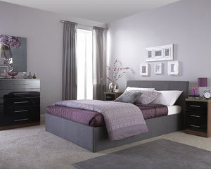GFW Ascot Ottoman Bed-Ottoman Beds-GFW-Single-Grey-Better Bed Company