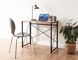 GFW Bramwell Folding Desk Oak-Better Bed Company