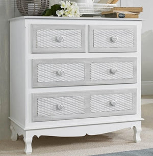 LPD Furniture Brittany 2+2 Chest Of Draws-Bed Side Tables-Better Bed Company