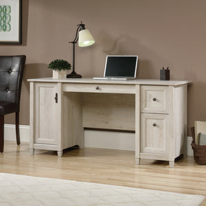 Teknik Chalked Wood Computer Desk-Better Bed Company
