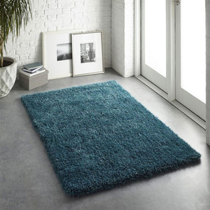 Origins Chicago Rug Dark Teal-Better Bed Company