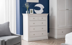 Julian Bowen Clermont 3+2 Drawer Chest-Better Bed Company