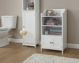 GFW Colonial 2 Door Deluxe Cupboard-Bathroom Furniture-GFW-White-Better Bed Company