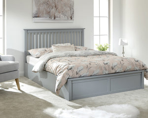 GFW Como Ottoman Bed-Ottoman Beds-GFW-Single-Grey-Better Bed Company