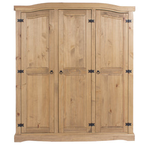 Core Products Corona 3 Door Wardrobe-Better Bed Company