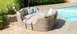 Maze Rattan Cotswold Daybed-Sofas-Maze Rattan-Better Bed Company