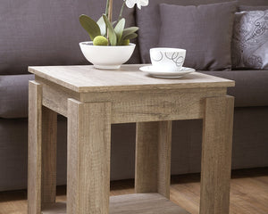 GFW Canyon Oak Lamp Table-Better Bed Company