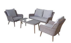 Signature Weave Danielle 4 Seat Sofa Set-Better Bed Company