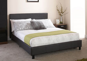GFW Leather Bed In A Box Black-Better Bed Company