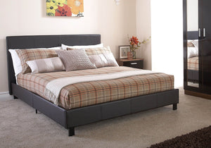 GFW Leather Bed In A Box-GFW-Single-White-Better Bed Company