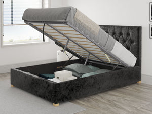 Better Gerald Black Ottoman Bed-Ottoman Beds-Better Bed Company