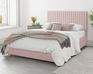 Better Nieve Pink Ottoman Bed-Ottoman Beds-Better Bed Company