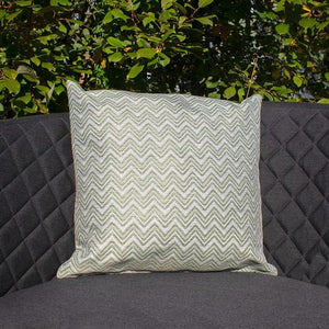 Maze Rattan Fabric Scatter Cushions Polines Green-Better Bed Company