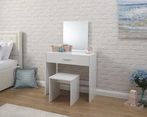 GFW Julia Dressing Table And Stool Set-Better Bed Company