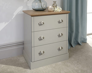 GFW Kendal 3 Drawer Chest-Better Bed Company