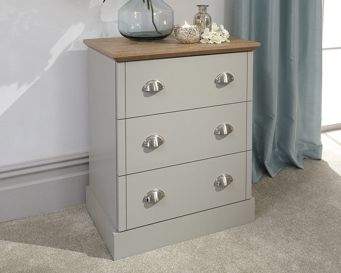 GFW Kendal 3 Drawer Chest