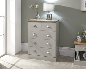 GFW Kendal 2 + 3 Drawer Chest-Better Bed Company