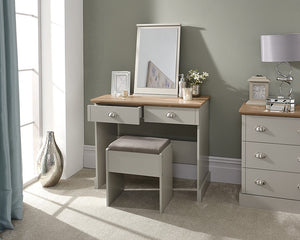 GFW Kendal Dressing Table With Stool-Better Bed Company