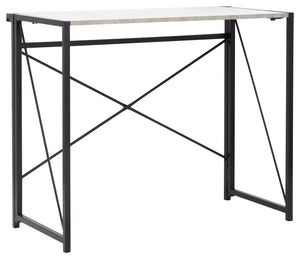 GFW Bramwell Folding Desk Concrete-Better Bed Company