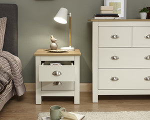 GFW Lancaster 2 Drawer Bedside-Better Bed Company