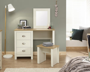 GFW Lancaster Dressing Table Set-GFW-Grey-Better Bed Company