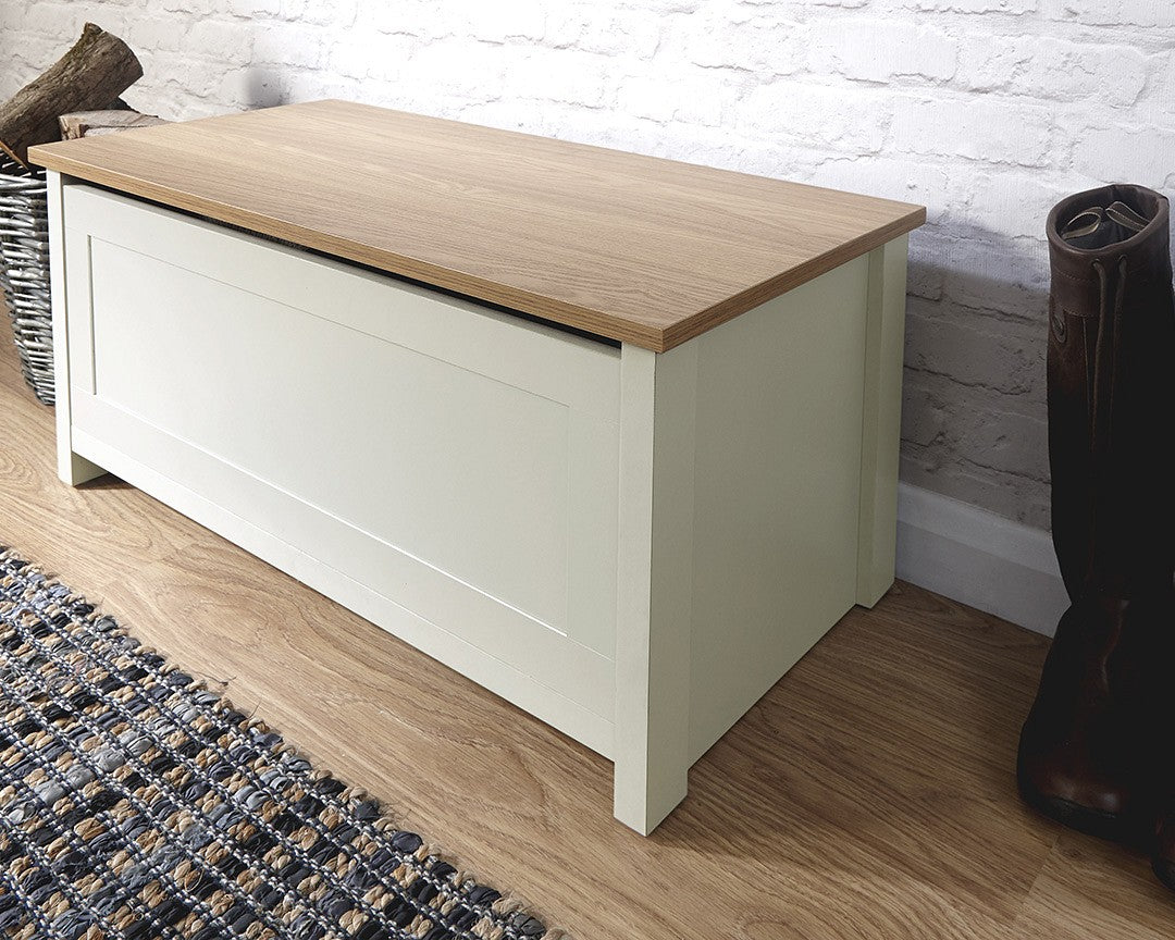 Gfw Lancaster Ottoman Storage Bench Free Delivery