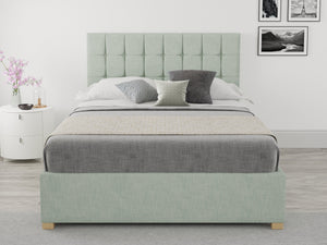 Better Bed Company Laura Eau Green Ottoman Bed-Better Bed Company