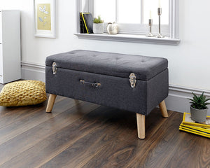 GFW Minstrel Storage Ottoman-GFW-Charcoal-Better Bed Company